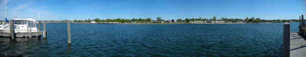 Tawas Harbor Shoreline- Click for Panorama