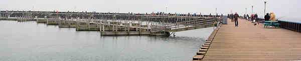 Whitefish Season at the State Dock- Click for Panorama