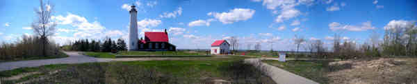 Tawas Point Lighthouse- Click for Panorama